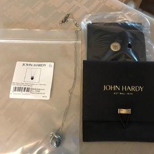John Hardy classic chain silver pendant w/Hematite